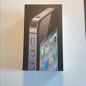 Apple iPhone 4 black, 16 G.B Box only